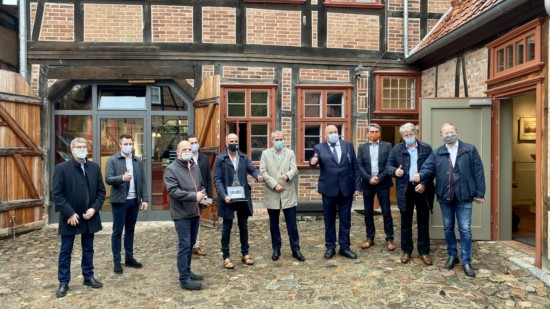 Hotspots Hagenow Übergabe Glawe 26.10.2020 - 1