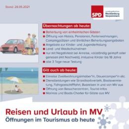 Lockerungen Reisen Urlaub 28 05 2021