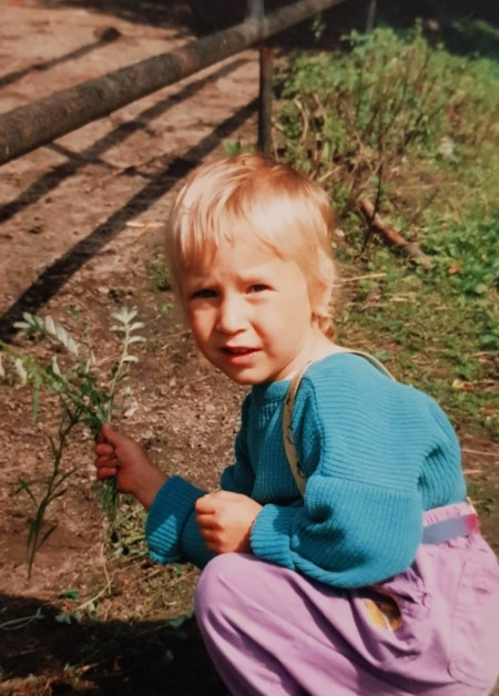 Kinderfoto Elisabeth Aßmann