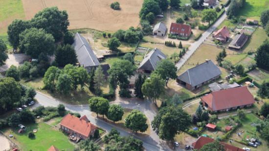 Luftaufnahme Strohkirchen
