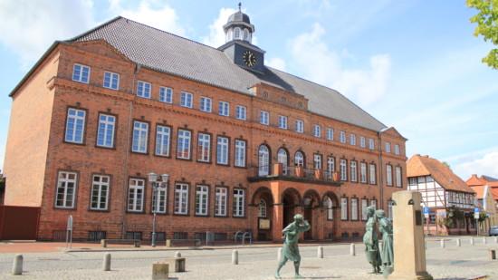 Rathaus Hagenow 1